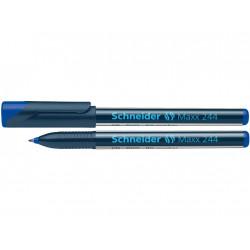 Marker Cd/Dvd Schneider Maxx 244 0.7 mm Varf Rotund - Albastru