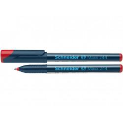 Marker Cd/Dvd Schneider Maxx 244 0.7 mm Varf Rotund - Rosu