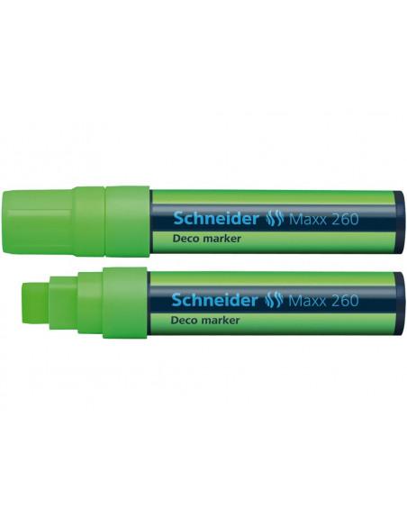 Marker Cu Creta Schneider Maxx 260 5 - 15 mm Varf Tesit - Verde