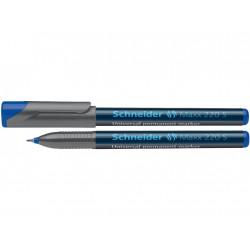 Marker Ohp Schneider Maxx 220 S 0.4 mm Varf Rotund - Albastru