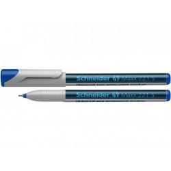 Marker Ohp Schneider Maxx 221 S 0.4 mm Varf Rotund - Albastru