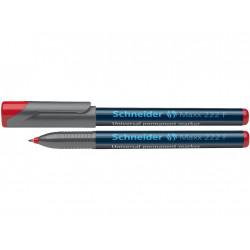 Marker Ohp Schneider Maxx 222 F 0.7 mm Varf Rotund - Rosu