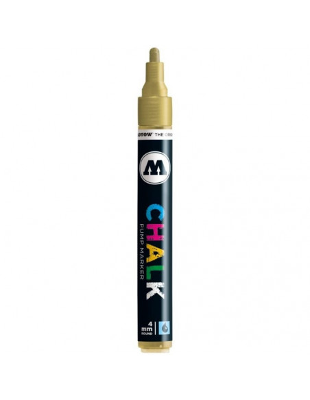 Decomarker Molotow, 4 mm, metallic gold