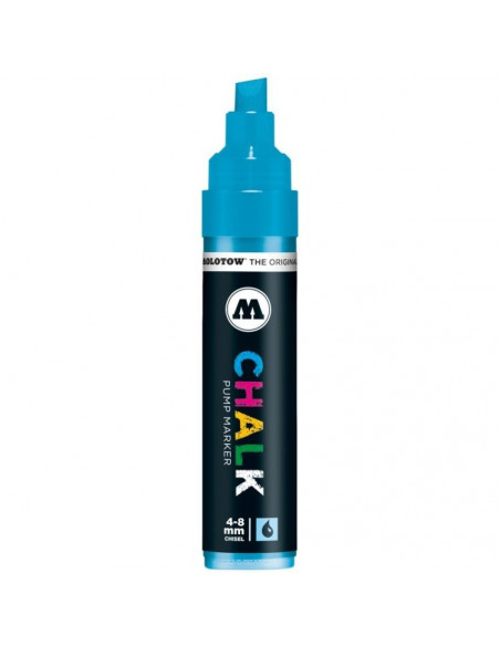 Decomarker Molotow, 4-8 mm, neon blue