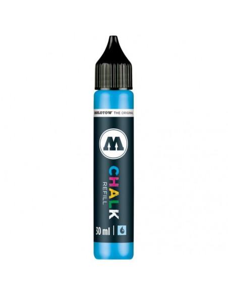 Rezervă Pentru Decomarker Molotow, 30 Ml, Neon Blue