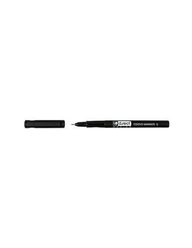 Marker Cd/Dvd D.Rect S - Negru