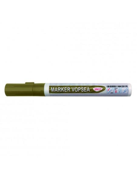 Marker Vopsea Daco 1 - 2 mm Varf Rotund - Auriu