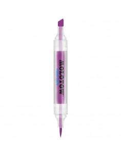 Marker Cu Vârf Dublu Molotow Aqua Twin, 1 Mm/2-6 Mm, Purple