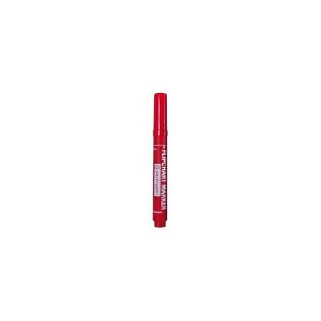 Marker Flipchart Centropen 8550 2.5 mm - Rosu