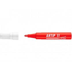 Marker Flipchart Ico Artip 11, 1 - 3 mm Varf Rotund - Rosu