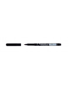Marker Permanent Centropen 2536 1.0 mm Varf Rotund - Negru