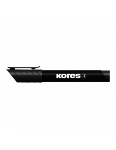 Marker Permanent Kores 3 mm Varf Rotund - Negru