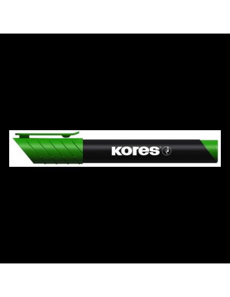 Marker Permanent Kores 3 mm Varf Rotund - Verde