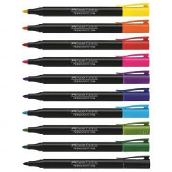 Marker Permanent Faber-Castell 1564 Slim 1.0 mm Varf Rotund -