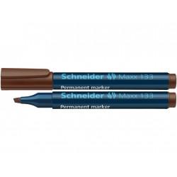 Marker Permanent Schneider Maxx 133, 1 - 5 mm Varf Tesit - Maro