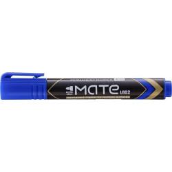 Marker Permanent Deli Varf Rotund 1.5 mm Mate, albastru