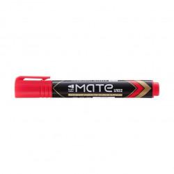 Marker Permanent Deli Varf Rotund 1.5 mm Mate, rosu
