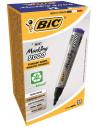 Marker permanent BIC 2000, albastru, 12 buc/cutie