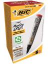 Marker permanent BIC 2300, rosu, 12 buc/cutie