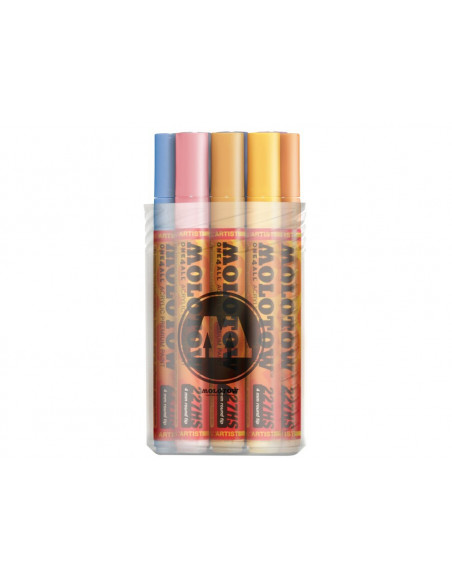Set Markere Molotow ONE4ALL 227HS Pastel-Kit, 12 buc