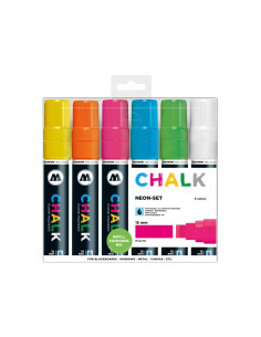 Set Markere Molotow Chalk Marker Neon-Set, 15 mm, 6 buc