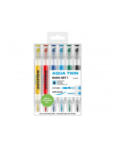 Set Molotow AQUA TWIN Basic-Set 1