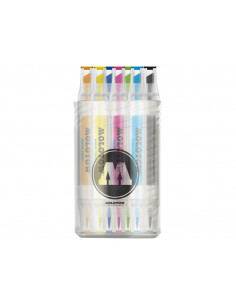Set Markere Molotow AQUA TWIN Complete Set Color