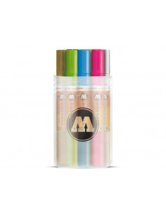 Set Molotow ONE4ALL ACRYLIC TWIN Main-Kit 2, 12 buc