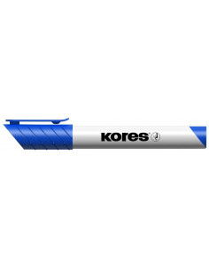 Marker Whiteboard Kores 3 mm Varf Rotund - Albastru