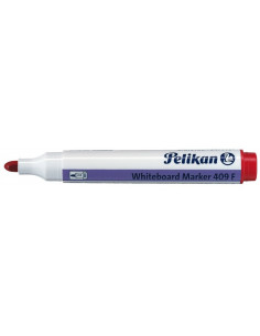 Marker Whiteboard Pelikan 409 1 - 3 mm Varf Rotund - Rosu