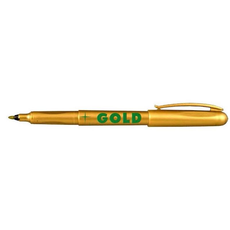 Marker Whiteboard Centropen 2670 1 mm Varf Rotund - Auriu