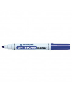 Marker Whiteboard Centropen 8559 2.5 mm Varf Rotund - Albastru