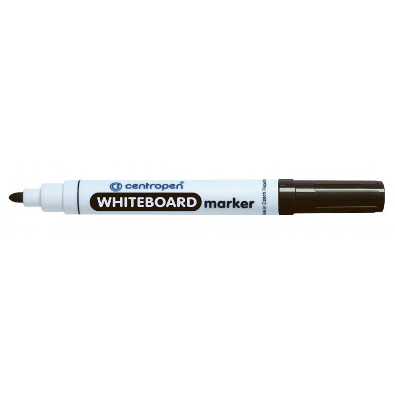 Marker Whiteboard Centropen 8559 2.5 mm Varf Rotund - Negru