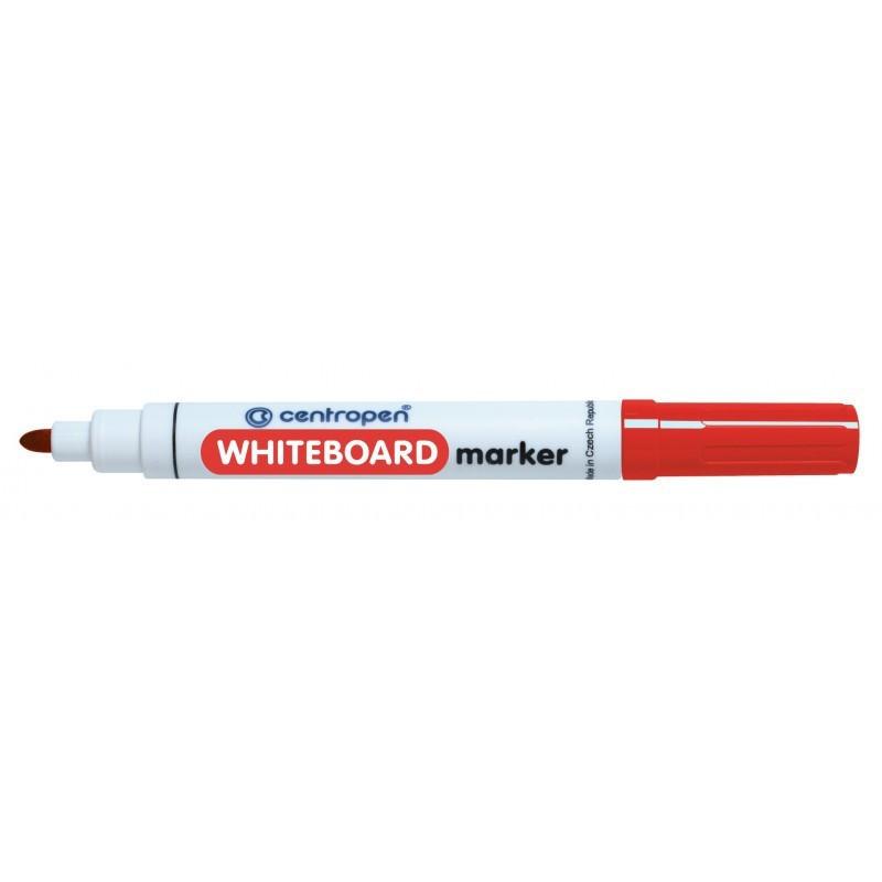 Marker Whiteboard Centropen 8559 2.5 mm Varf Rotund - Rosu