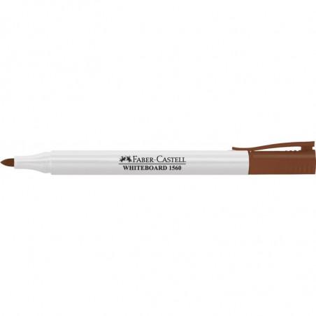 Marker Whiteboard Faber-Castell 1560 2 mm Varf Rotund - Maro