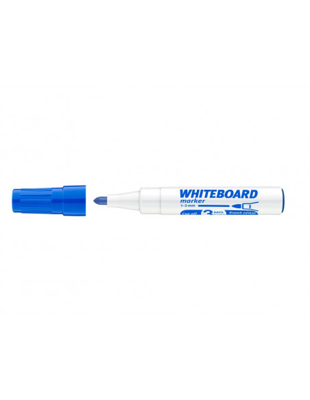 Marker Whiteboard ICO 1 - 3 mm Varf Rotund - Albastru