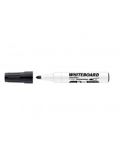 Marker Whiteboard ICO 1 - 3 mm Varf Rotund - Negru