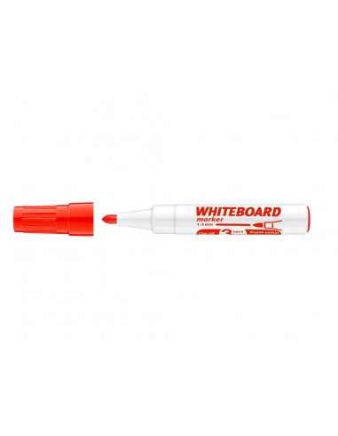 Marker Whiteboard ICO 1 - 3 mm Varf Rotund - Rosu