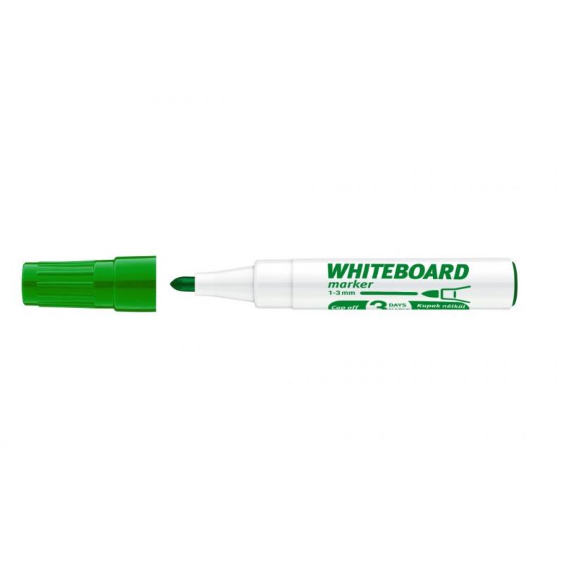 Marker Whiteboard ICO 1 - 3 mm Varf Rotund - Verde