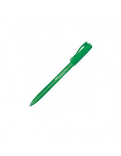 Roller 1 mm Semi-Gel Cx Colour Faber-Castell - Verde