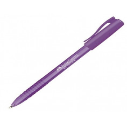 Roller 1 mm Semi-Gel Cx Colour Faber-Castell - Violet