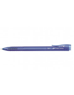 Pix Faber-Castell Cu Mecanism Semi-Gel Rx7 0.7 mm - Albastru