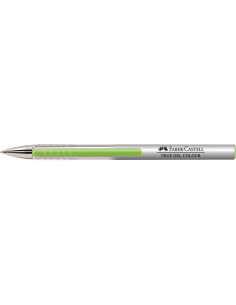 Pix Cu Gel 0.7 mm True Gel Faber-Castell - Verde Deschis