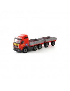 Camion cu remorca - Volvo PowerTruck, 77x19x25 cm, Wader