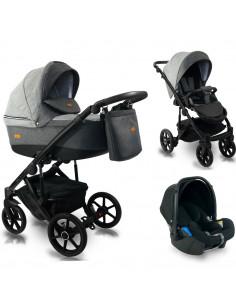 Carucior copii 3 in 1, reversibil, 0-36 luni, BEXA ULTRA 2.0