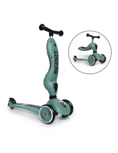 Trotineta copii transformabila 2in1 Scoot & Ride HighwayKick 1