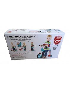 TROTINETA COPII TRANSFORMABILA 2IN1 Scoot & Ride HighwayBaby+