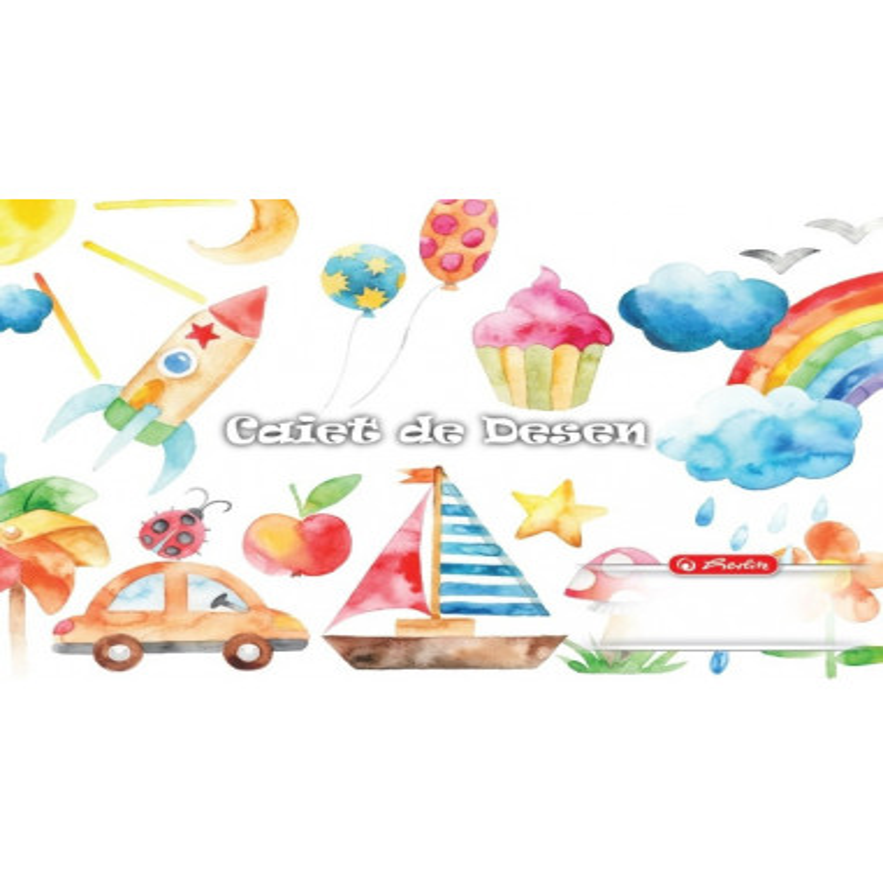 Caiet Herlitz Desen 24 File