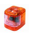 Ascutitoare Electrica ICO Dubla cu baterii, Roz