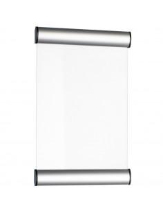 Suport metalic pentru nume, pentru semnalizare usa, 24 x 15 cm